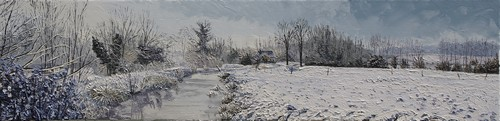 l`hiver, l`Hallue endormie. 2013.