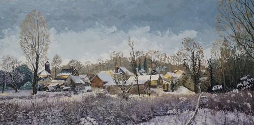 neige et gelée sur Montigny. 2013