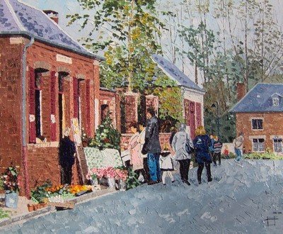 fête du paysage, Montigny sur l`Hallue. 2001. F12 (50cmx61cm)